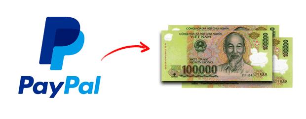 rút tiền từ Paypal về tài khoản ngân hàng