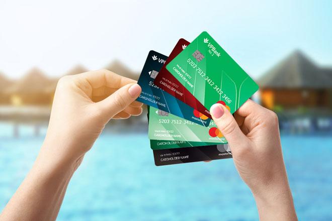 các loại thẻ tín dụng của vpbank