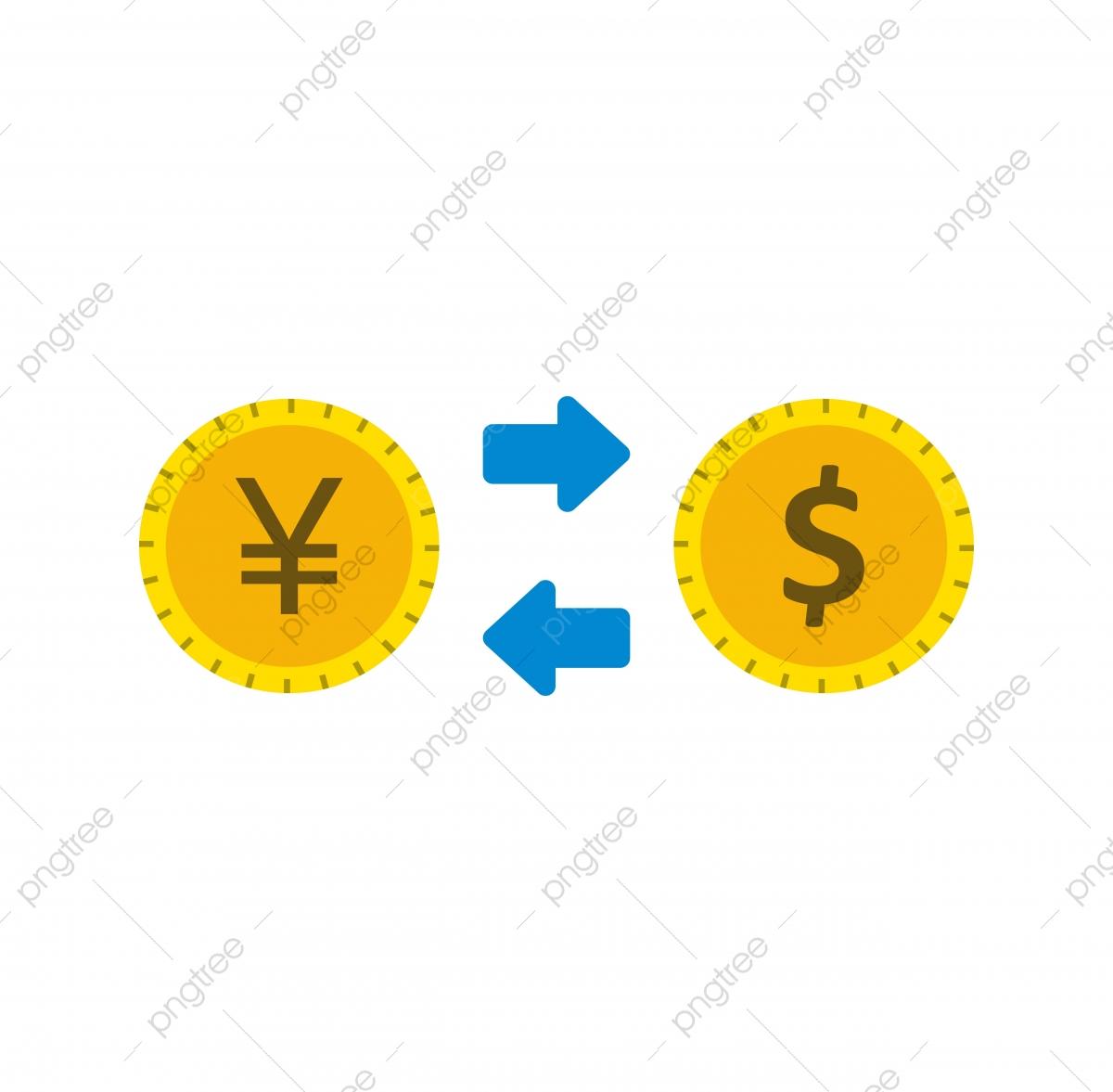 Tỷ Giá Hối đoái Biểu Tượng Phẳng, Tỷ Giá Hối đoái Biểu Tượng, Tiền ...