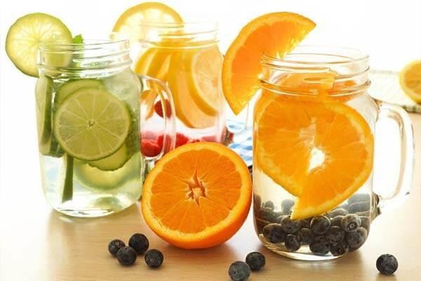 Detox chanh và cam giúp giảm mỡ thừa