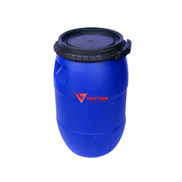 Thùng Phuy Nhựa 50 Lít Giá Rẻ Nhất Thị Trường - Nhựa Việt Tiến