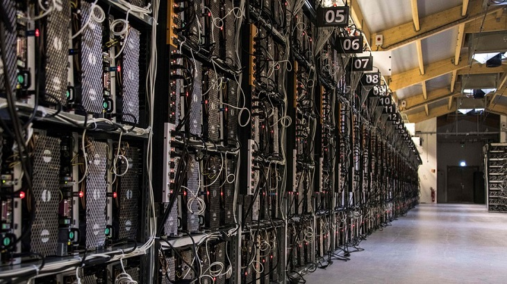 Một công xưởng đào Bitcoin