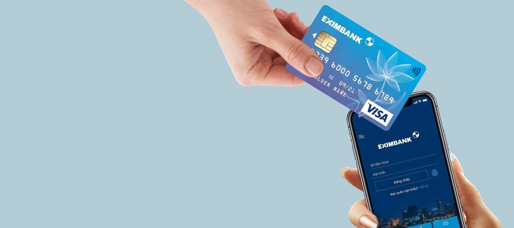 Các loại thẻ ATM Eximbank