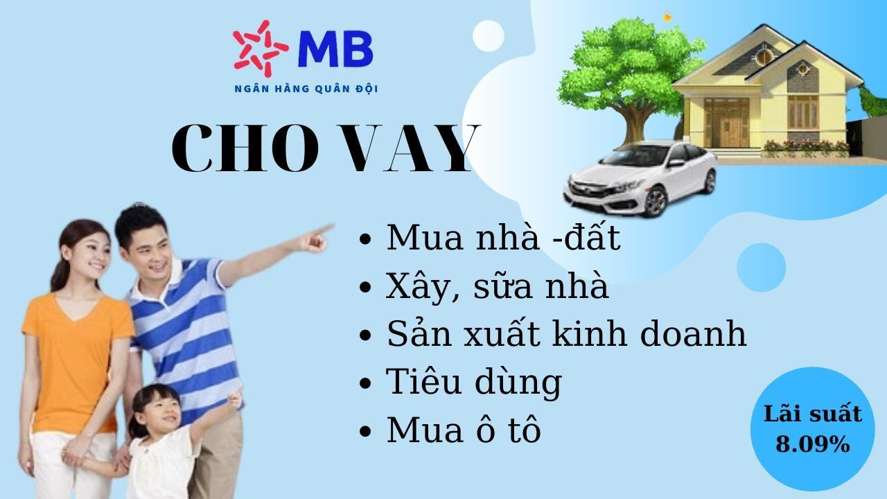 MBBank đa dạng phương án vay