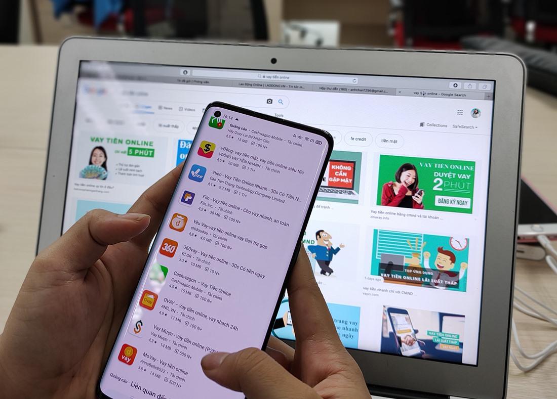 Vì sao khó dẹp loạn app cho vay nặng lãi đang hoành hành? | Tin tức mới  nhất 24h - Đọc Báo Lao Động online - Laodong.vn