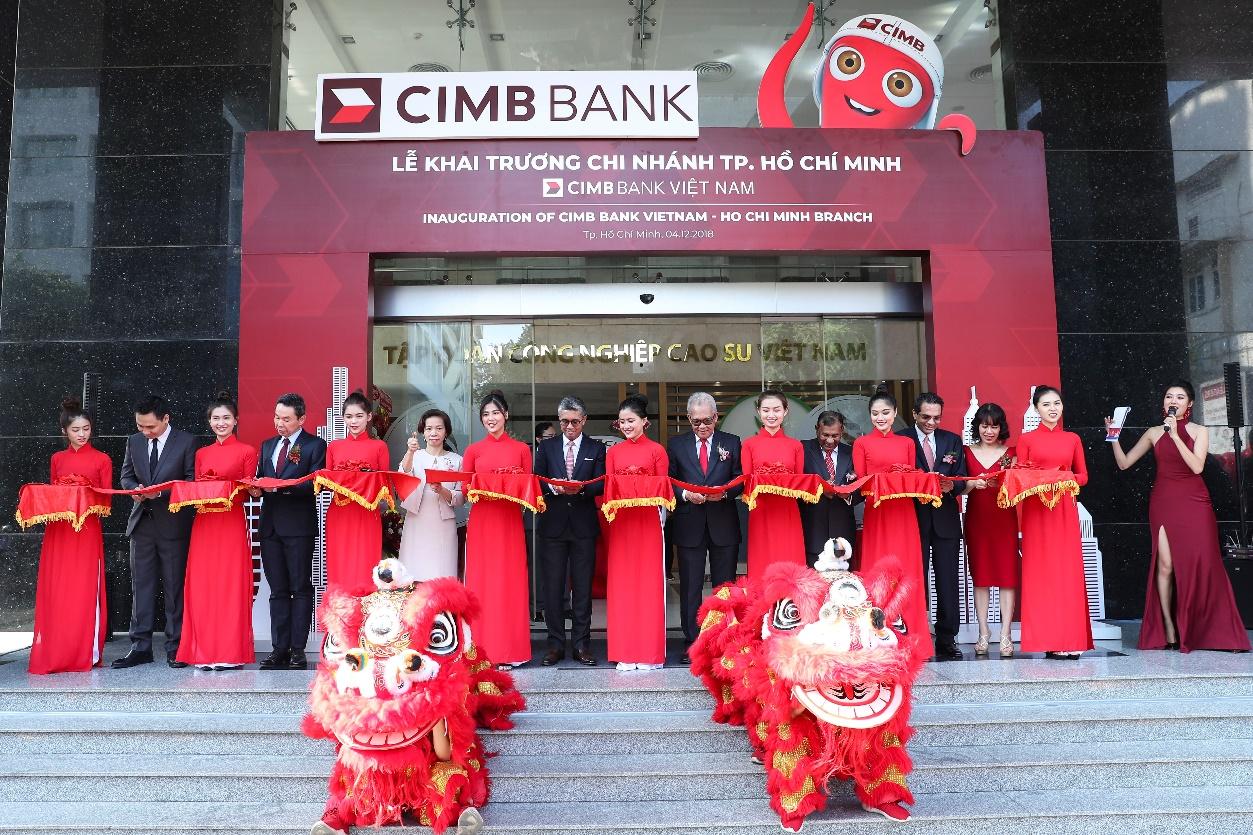 Ngân hàng CIMB chính thức khai trương chi nhánh tại TP.HCM